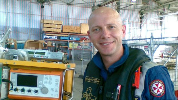 Paramedic Michael Wilson who died in 2011  during a dangerous cliff rescue.