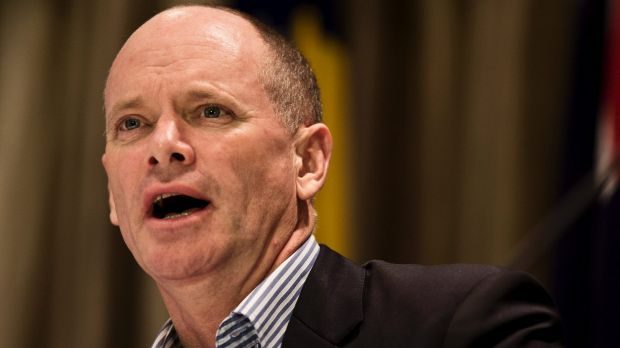 Premier Campbell Newman.