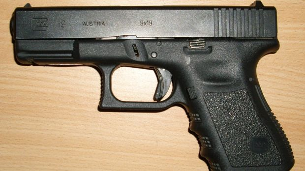 Used during a sexual encounter: A Glock.