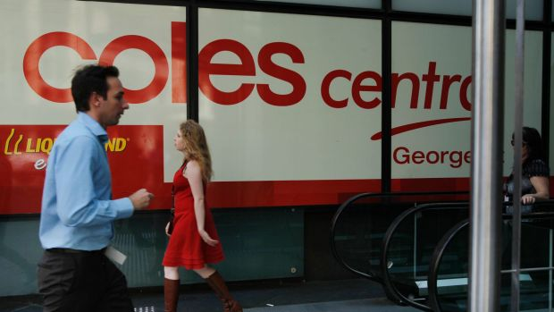 Keen to break into financial services: Signing up with the Financial Services Council would give Coles crucial ...