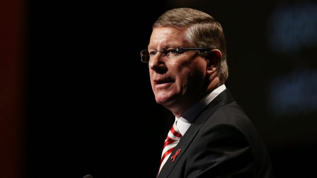 Denis Napthine, whose government is making up ground in the latest opinion poll.