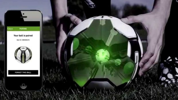 The adidas miCoach smart ball.