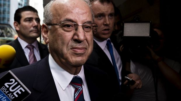 """""""I've got five sons and five daughters, so I was always on the lookout to make a buck"""": Eddie Obeid snr."""