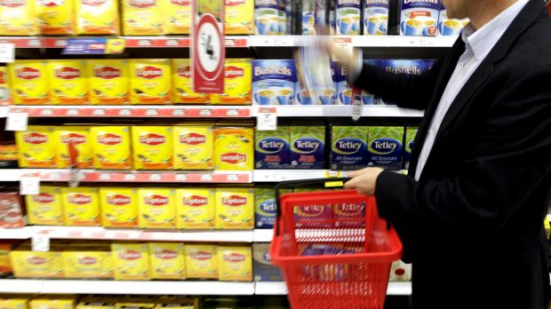 Much like products on a supermarket shelf, voters must decide if they will buy Campbell Newman over a rival product.