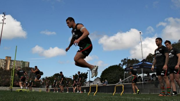 On the hop to Manly: Souths forward Luke Burgess has joined the Sea Eagles.