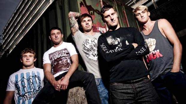 Parkway Drive's <i>Deep Blue</i> debuts at number two on the album charts.