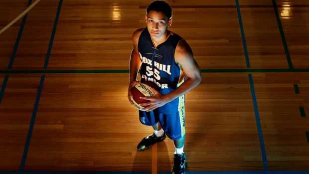 Fast track to success: Australian Boomers young gun Ben Simmons.
