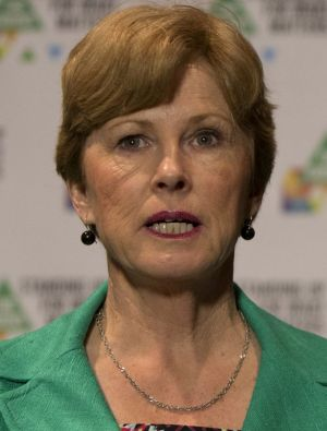 """The corruption that's been revealed in NSW doesn't stop in that state"": Federal Greens leader Christine Milne."