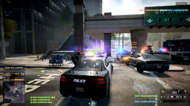 <i>Battlefield: Hardline</i> takes the core gameplay of previous entries in the series and applies it to a very ...