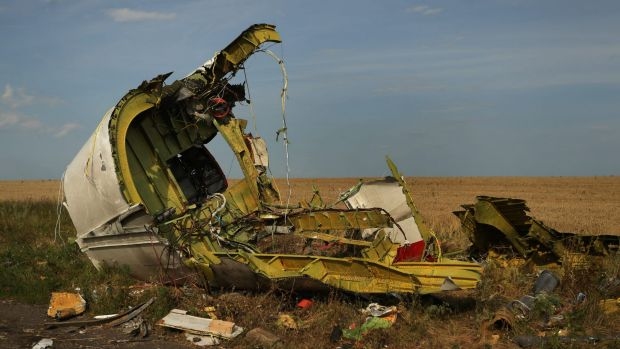 The rear fuselage of downed flight MH17: Investors are pulling money out of Russia amid expectations of deeper sanctions ...
