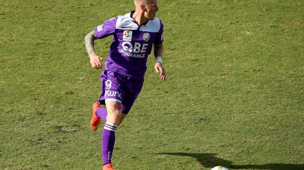 Andy Keogh's goal on debut gave Perth Glory a 1-1 draw against Malaga.