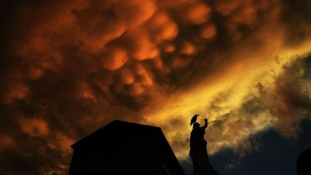 """""""Let the sky make the picture"""":  Herald photographer Nick Moir says there are some crucial steps to photographing sunsets."""