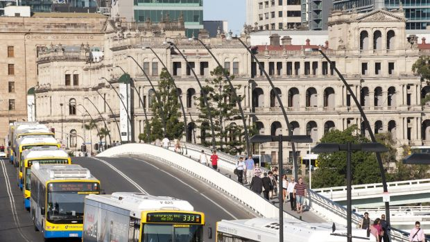 The future management of Brisbane's bus network has come under the spotlight.