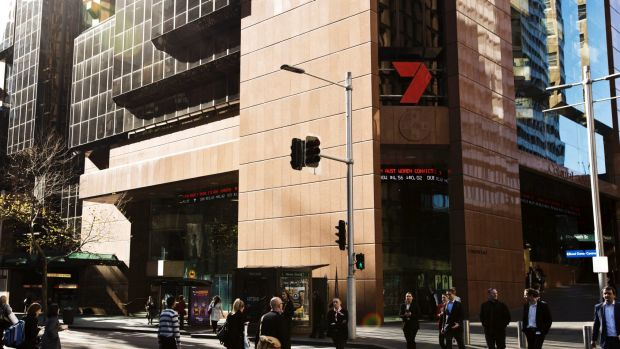 52 Martin Place, at present occupied by Channel Seven.