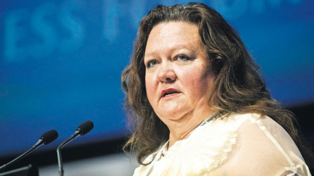 Gina Rinehart's $10 billion Roy Hill iron ore project in WA has reached the halfway point of construction.