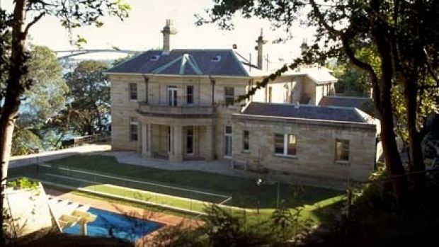 <i>The Bachelor</i>'s former heritage-listed waterfront estate Clifton in Hunters Hill.