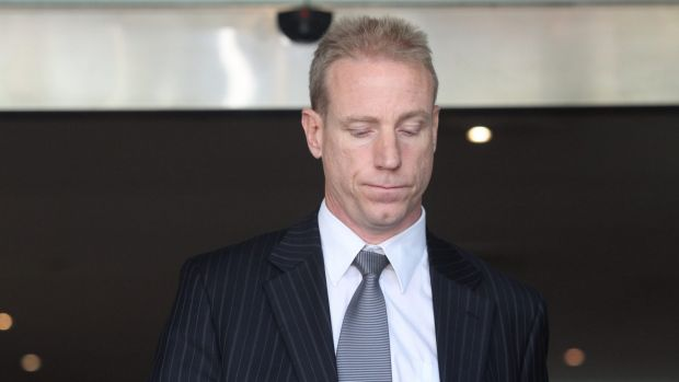 """""""I've tried to understand how it went the wrong way"""": Detective Senior Constable Richard McNally at the inquest."""