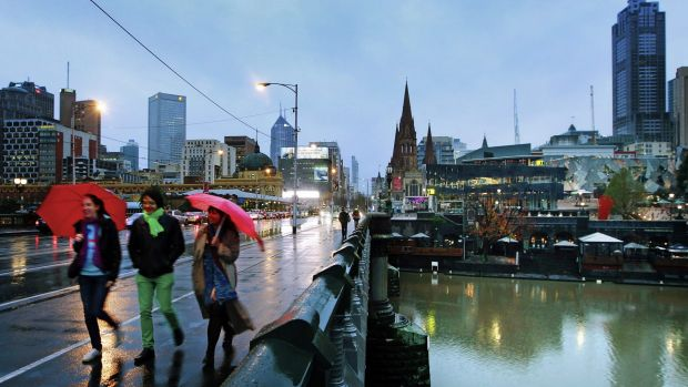 Melbourne scores well on safety and environmental factors.