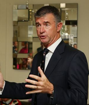 Tim Mander's mouth got him into trouble in Parliament on Wednesday.