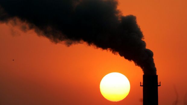 Carbon emissions are to collect a national price in China.