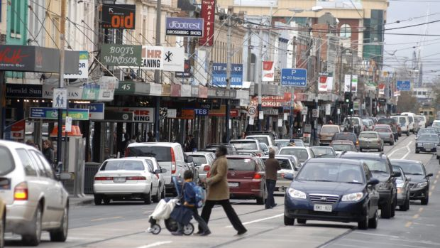 Chapel Street traders are grappling with a gloomy retail climate