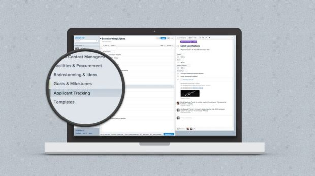 Asana automates numerous tasks to avoid having to send constant email updates.