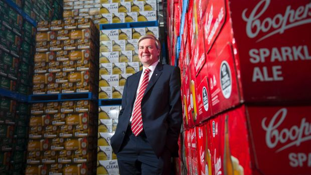There have been no fresh buyout advances. says the brewer's managing director, Tim Cooper.