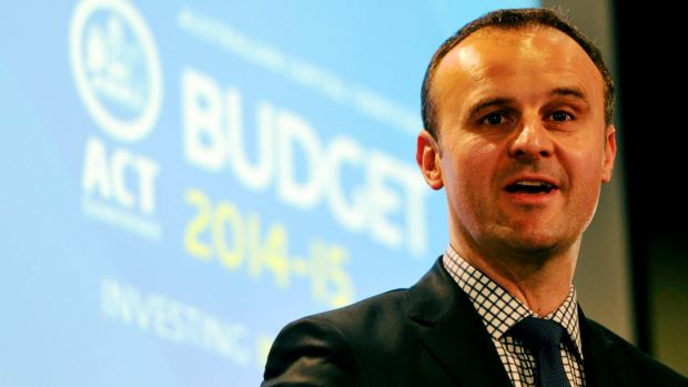 ACT Treasurer Andrew Barr says actual costs would depend on the cost of buying houses, the cost of demolition and ...