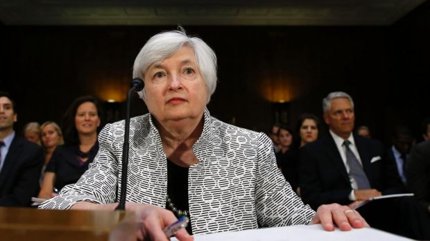 US Fed chair Janet Yellen has warned  have argued that considerable slack remains in the economy and are wary of moving ...