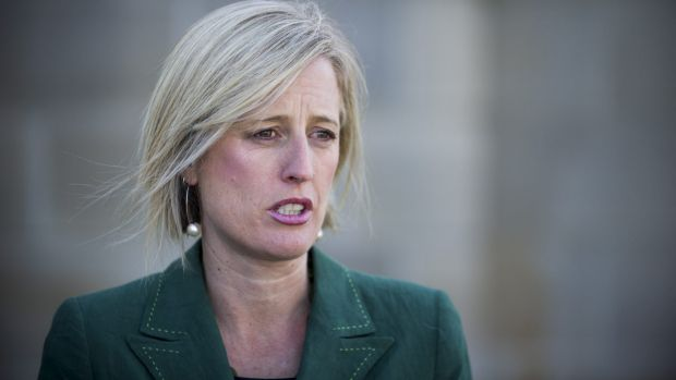 Chief Minister Katy Gallagher.