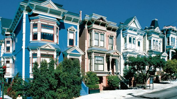 Legend has it that San Francisco's houses need to be able to cope with a 'hot snow load'.