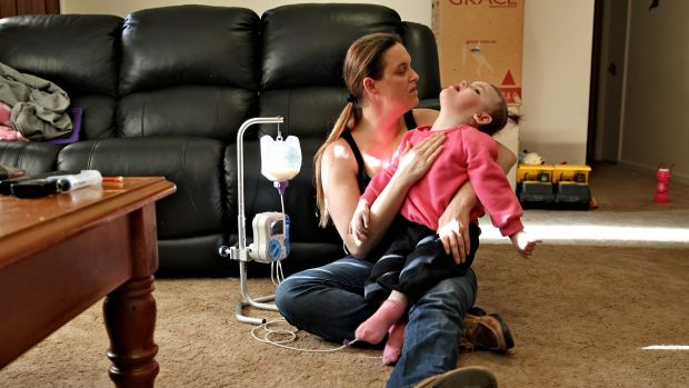 Sydney girl Abbey, and her mother, Cherie, have been left without access to the oil after Australian Federal Police ...