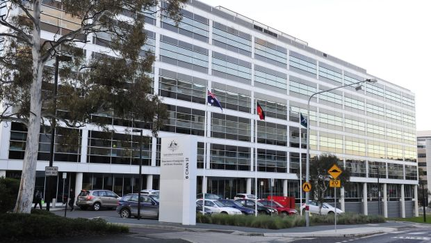 The Immigration and Border Protection building in Belconnen.