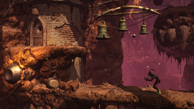 <i>Oddworld's</i> come a long way, mechanically and graphically, since its start on the original PlayStation.