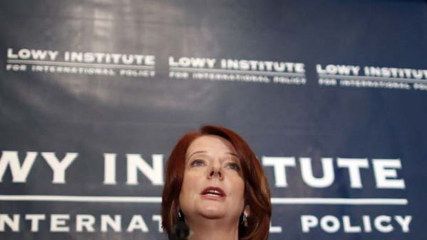 The Prime Minister, Julia Gillard, announces the government's new policies on asylum seekers and border protection.