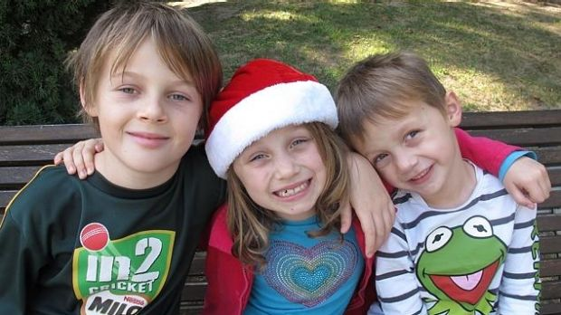 Evie, Mo and Otis Maslin and their grandfather Nick were killed on MH17.